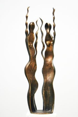 Arie Timmerman - Beeld in brons - Immaterial Woman - 77cm